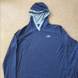North Face hoodie shirt